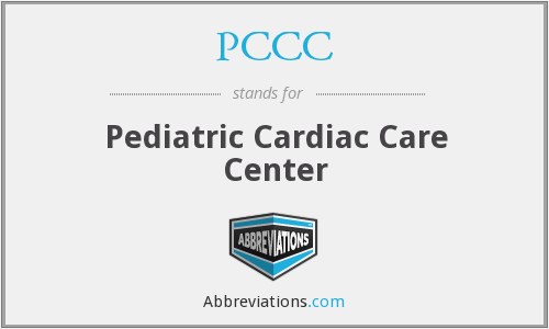 PCCC - Pediatric Cardiac Care Center