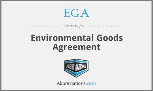 EGA - Environmental Goods Agreement