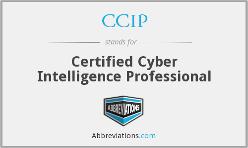 CCIP - Certified Cyber Intelligence Professional