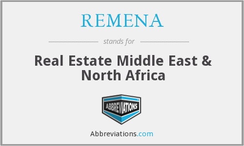 What does REMENA stand for?
