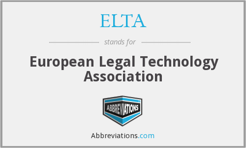 What does ELTA stand for?