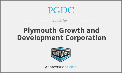 PGDC - Plymouth Growth and Development Corporation