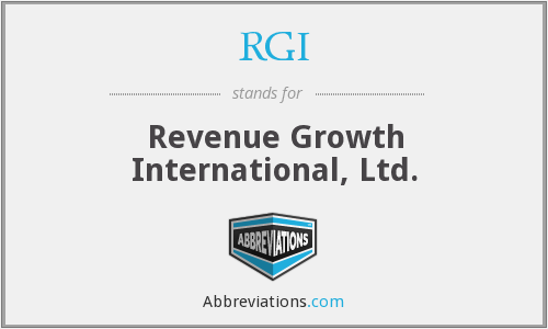 RGI - Revenue Growth International, Ltd.