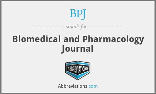 BPJ - Biomedical and Pharmacology Journal
