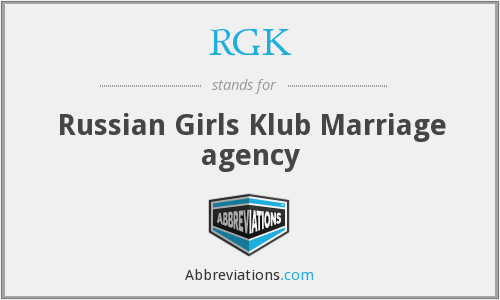 RGK - Russian Girls Klub Marriage agency
