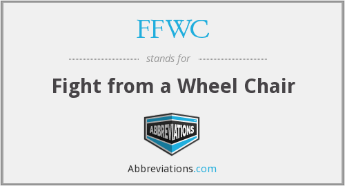 FFWC - Fight from a Wheel Chair