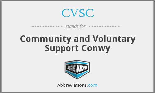 CVSC - Community and Voluntary Support Conwy
