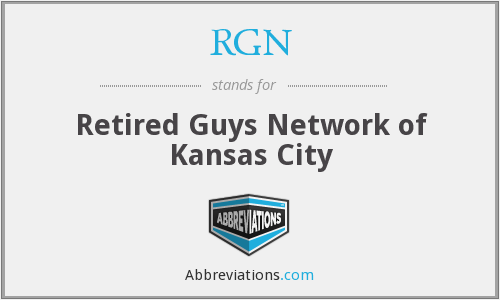 RGN - Retired Guys Network of Kansas City