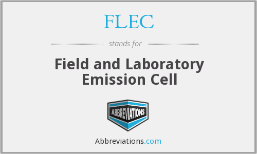 FLEC - Field and Laboratory Emission Cell