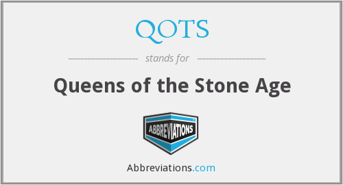 QOTS - Queens of the Stone Age