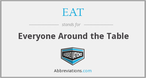 EAT - Everyone Around the Table