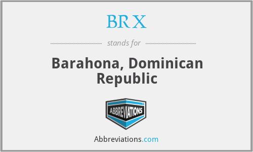 BRX - Barahona, Dominican Republic