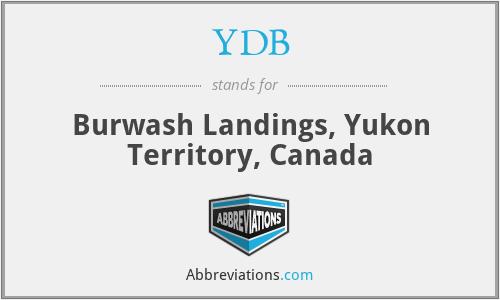 YDB - Burwash Landings, Yukon Territory, Canada