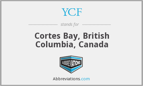 YCF - Cortes Bay, British Columbia, Canada