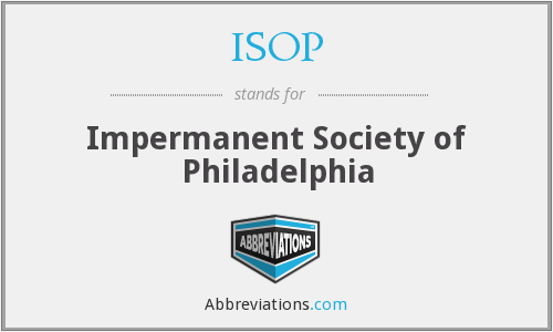 What does impermanent stand for?