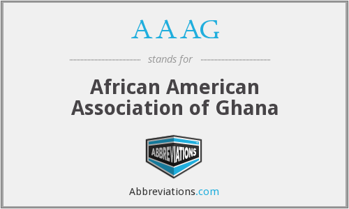 AAAG - African American Association of Ghana
