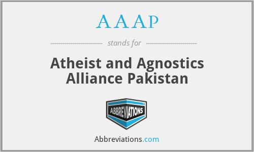 AAAP - Atheist and Agnostics Alliance Pakistan