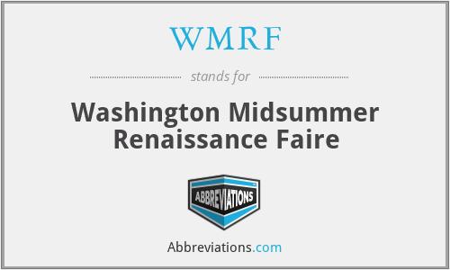 WMRF - Washington Midsummer Renaissance Faire