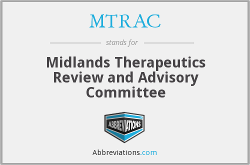 MTRAC - Midlands Therapeutics Review and Advisory Committee