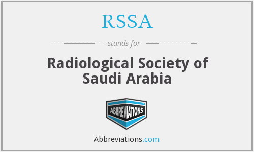 What does RSSA stand for?