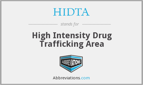 HIDTA - High Intensity Drug Trafficking Area