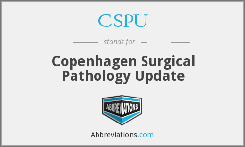 CSPU - Copenhagen Surgical Pathology Update