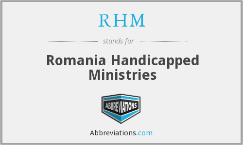 RHM - Romania Handicapped Ministries