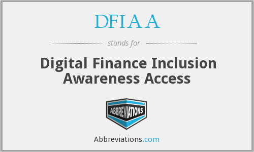 What does DFIAA stand for?