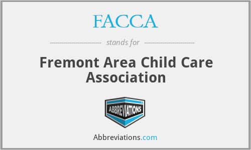 FACCA - Fremont Area Child Care Association