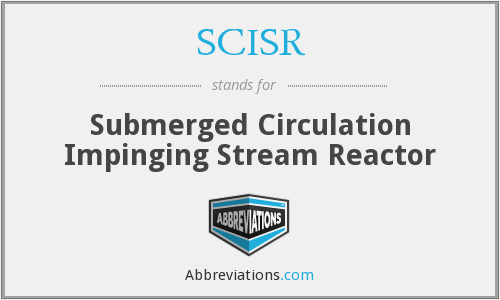 SCISR - Submerged Circulation Impinging Stream Reactor