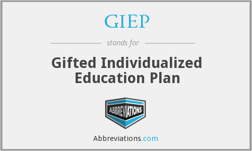 What does GIEP stand for?