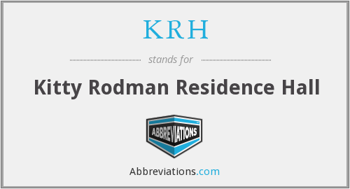 KRH - Kitty Rodman Residence Hall