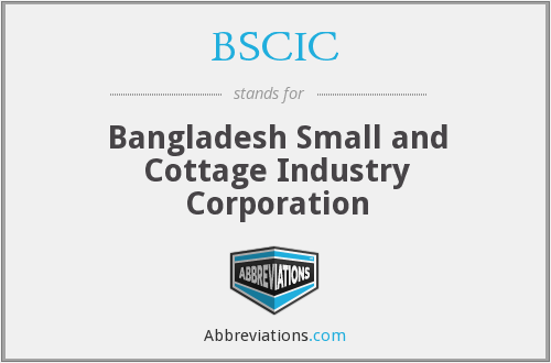 What does BSCIC stand for?