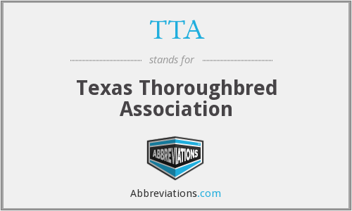 TTA - Texas Thoroughbred Association