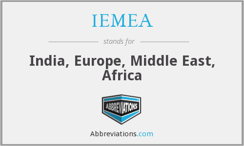 What does IEMEA stand for?