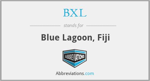 BXL - Blue Lagoon, Fiji