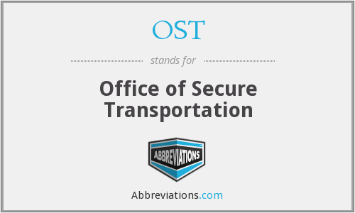 What does OST stand for? — Page #2
