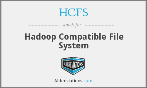 What does HCFS stand for?