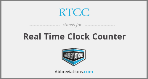RTCC - Real Time Clock Counter