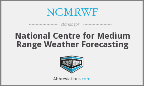 What does NCMRWF stand for?