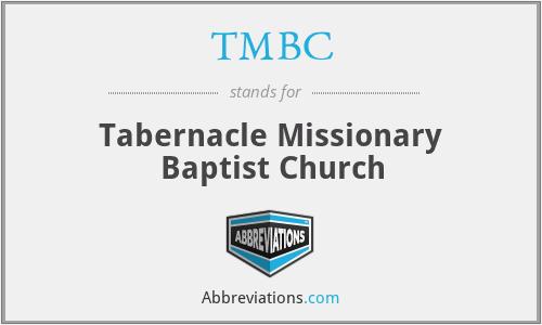 TMBC - Tabernacle Missionary Baptist Church