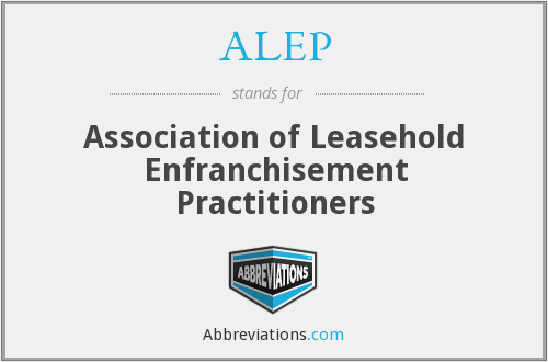 What does ALEP stand for?