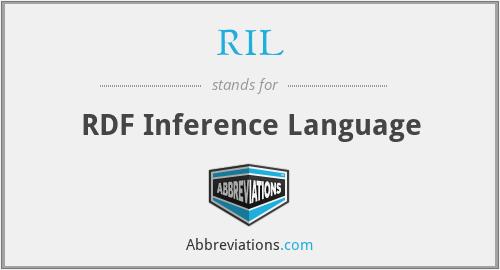 RIL - RDF Inference Language