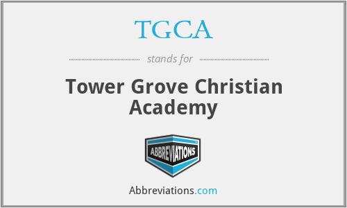 TGCA - Tower Grove Christian Academy