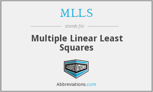What does MLLS stand for?