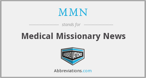 MMN - Medical Missionary News