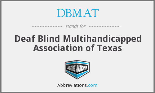 What does DBMAT stand for?