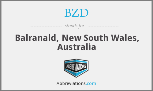 BZD - Balranald, New South Wales, Australia