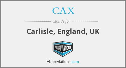 CAX - Carlisle, England, UK