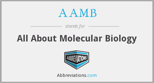 AAMB - All About Molecular Biology
